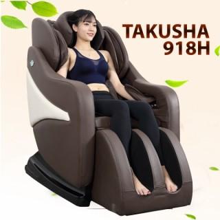GHẾ MASSAGE TAKUSHA 918H - Massage dạng chữ S