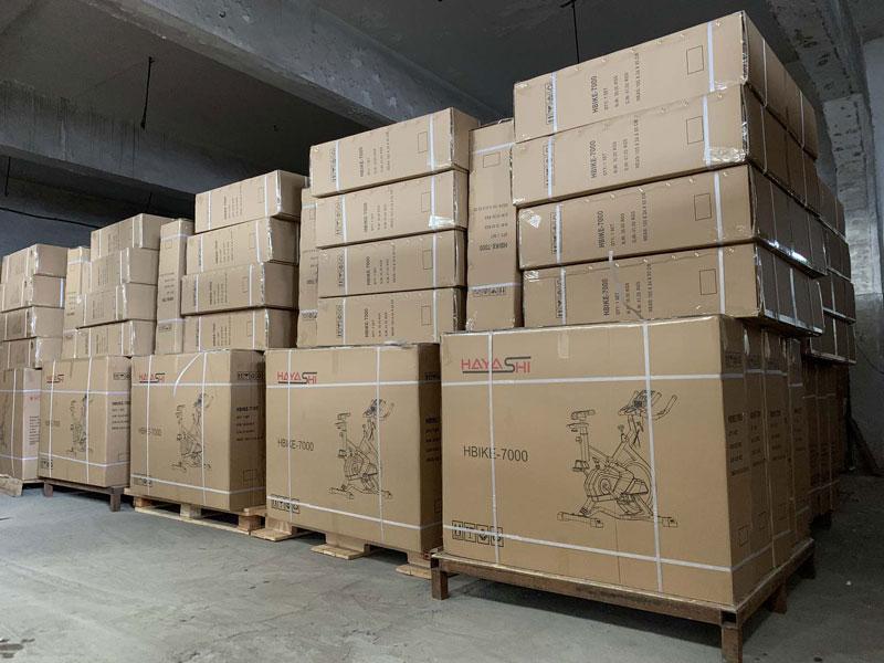 hình ảnh kho hàng Xe Đạp Tập Thể Dục Hayashi Hbike 7000