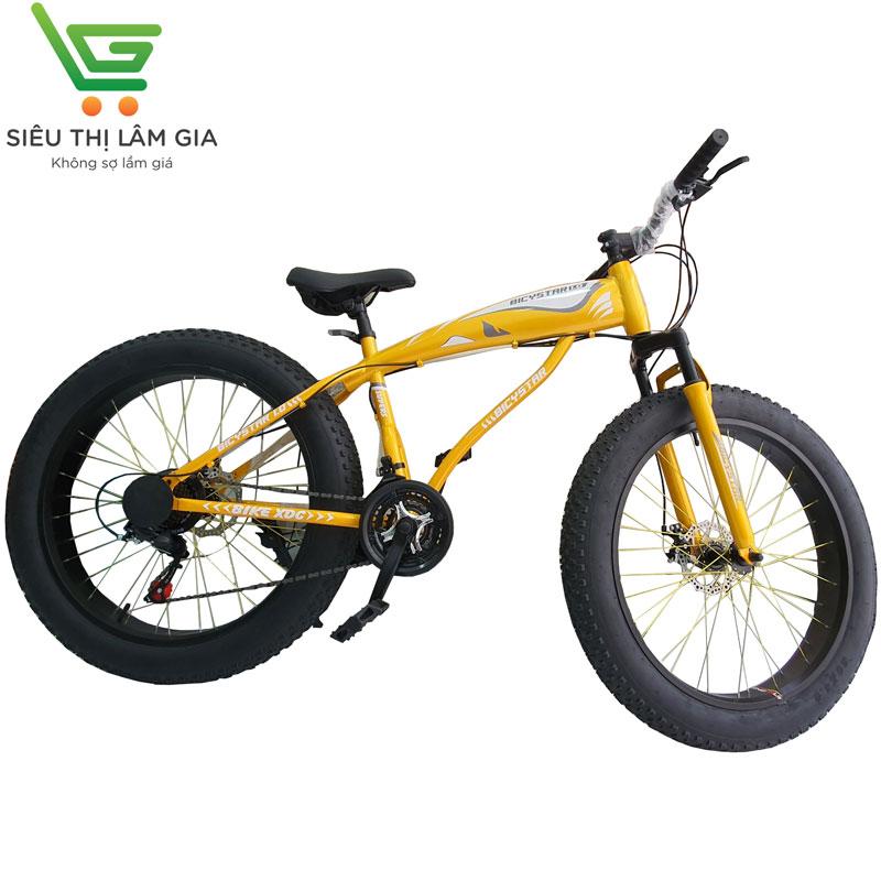 Xe đạp bánh to Aomena 007 vàng